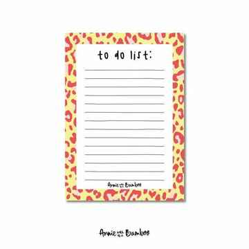 Notitieblok A6 | To do list | Annie with the Bamboo