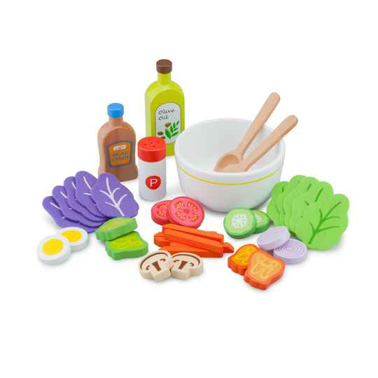 Salade Set Hout | New Classic Toys