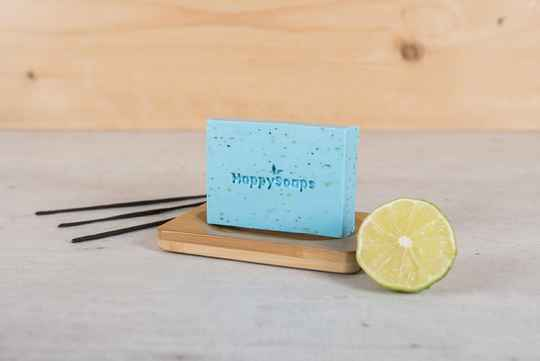 Bergamot en Wierook Body Bar | Happy Soaps
