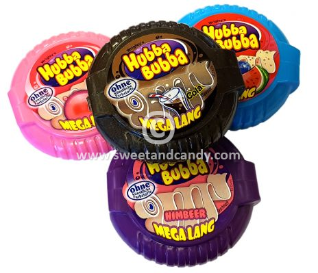Hubba Bubba Tape Assorted 56 gr