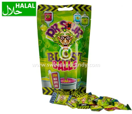 Dr. Sour Blast Balls Stand-Up Bag 75 gr.