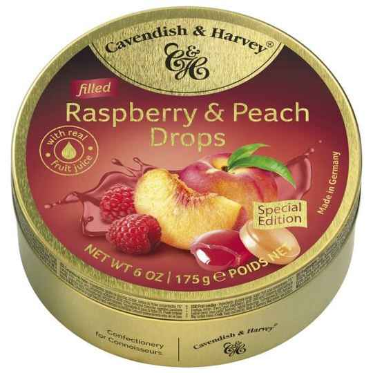 Cavendish & Harvey RASPBER&PEACH DROPS