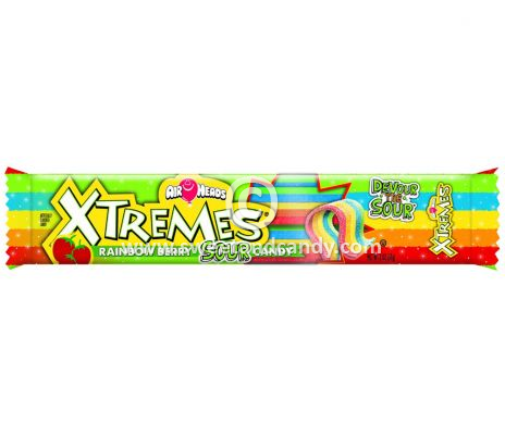 Airheads X-Tremes Rainbow Berry 56 gr