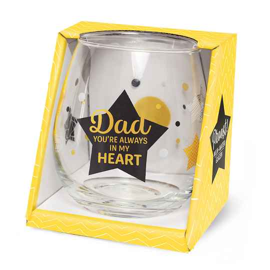 Dad in my heart Proost!