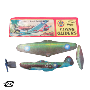 Power Prop Flying Gliders Curtiss P-40 Tomahawk Nr. 10