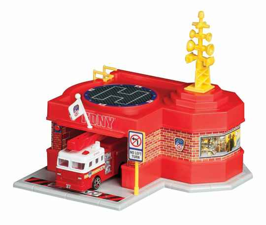 FDNY - Mini Firehouse with Fire Truck