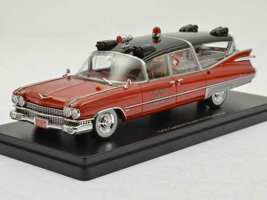 NEO Scale - Cadillac Superior Ambulance 1959 - Chicago Fire Department