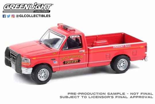 Greenlight - Ford F-350 - Massachusetts Forestry Fire & Rescue