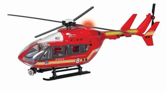 FDNY - Helicopter with lights and Sound 1/32