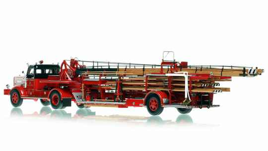 Fire Replicas - Chicago Fire Department - 1954 FWD Tractor-Drawn Aerial - H&L Company 26
