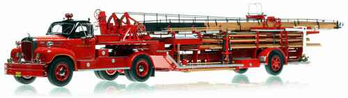 Fire Replicas - Chicago Fire Department - 1960 MACK® B with FWD 85' Aerial H&L 25
