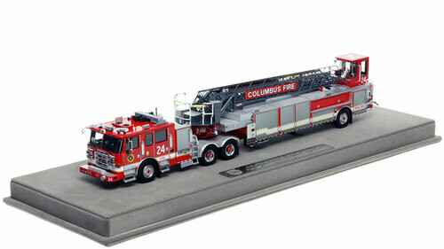 """Fire Replicas - Columbus Division of Fire - Ladder 24 """"Northland Area of Colombus"""""""