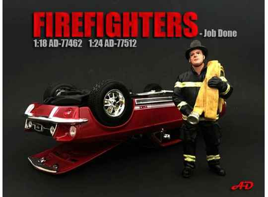 Fire Fighter Figure IV *Job Done* 1/18