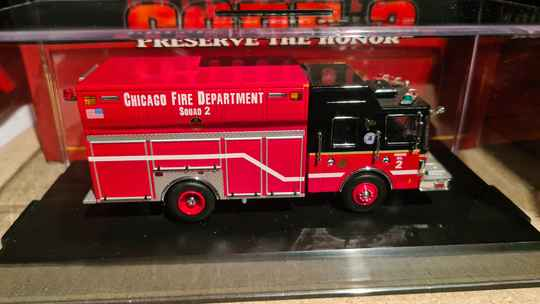 Code 3 Collectibles - Chicago Fire Dept - Squad 2