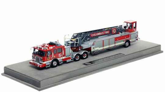 """Fire Replicas - Columbus Division of Fire - Ladder 15 """"Driving Park Fire Station"""""""