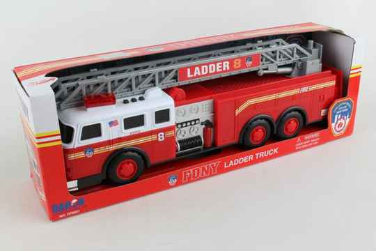 FDNY - Ladder Truck with Lights and Sound