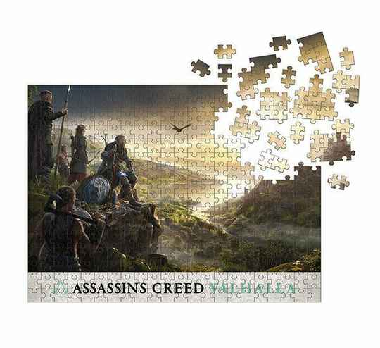 Assassin's Creed Valhalla Jigsaw Puzzle Raid Planning (1000 pieces) Gs14853