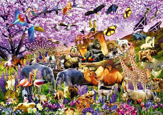 Two By Two at Noah's Ark -  Puzzle 1,000 pieces gs15035
