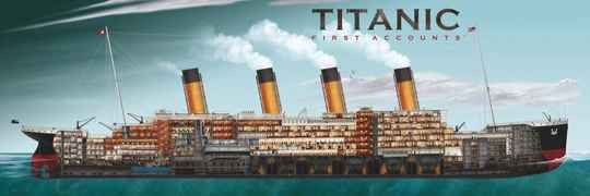 Titanic First Accounts -  Puzzle 1,000 pieces Gs15154