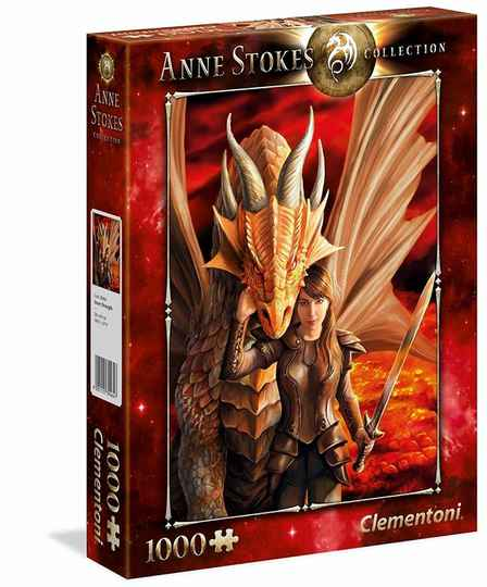 Anne Stokes - Inner Strength -  Puzzle 1,000 pieces Gs14880