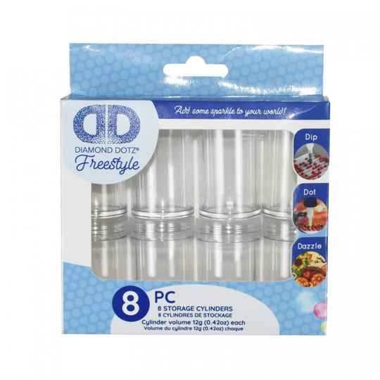 FREESTYLE EMPTY CYLINDERS 8 PACK DP181