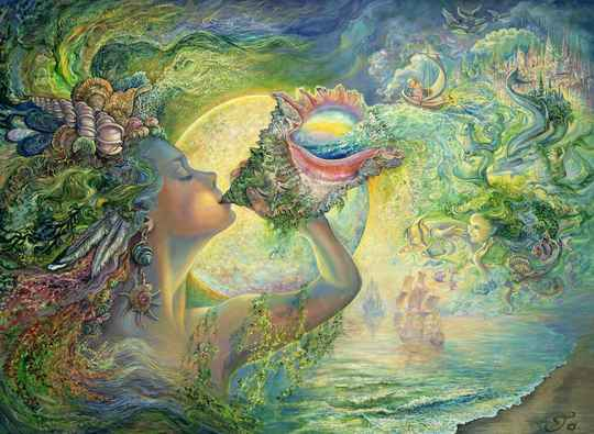 Josephine Wall -  Call of the Sea  -  Puzzle 1,000 pieces
