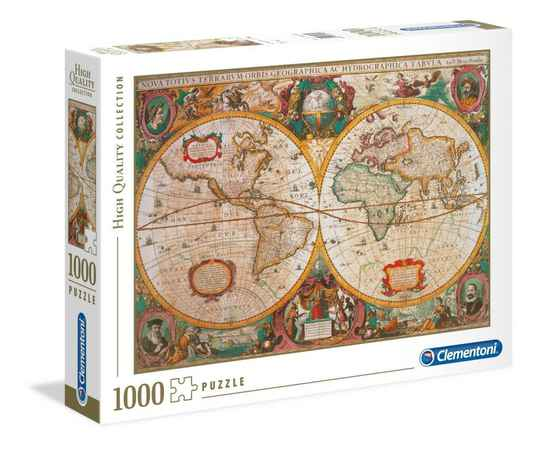 OLD MAP - Puzzle 1000P Gs14904