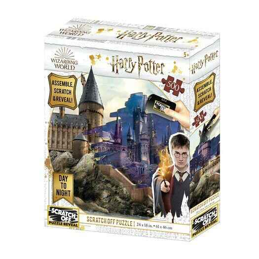 HARRY POTTER - Day & Night - Scratch Puzzle 500P '61x46cm' GS14283