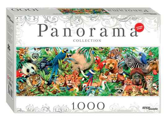 World of Animals -  Puzzle 1,000 pieces Gs14829