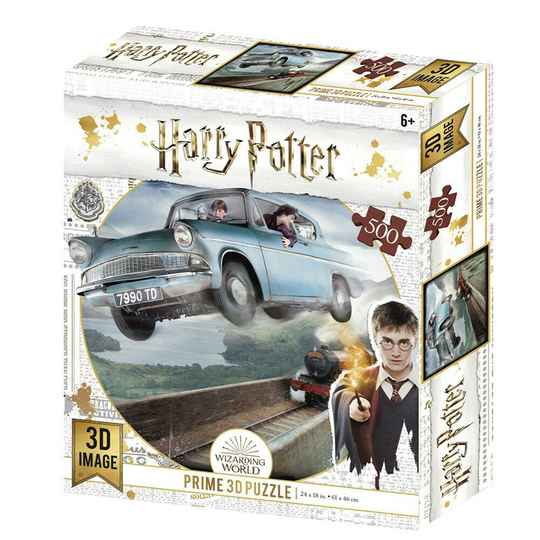 HARRY POTTER - Ford Anglia - Lenticular Puzzle 3D 500P '61x46cm' Gs13364