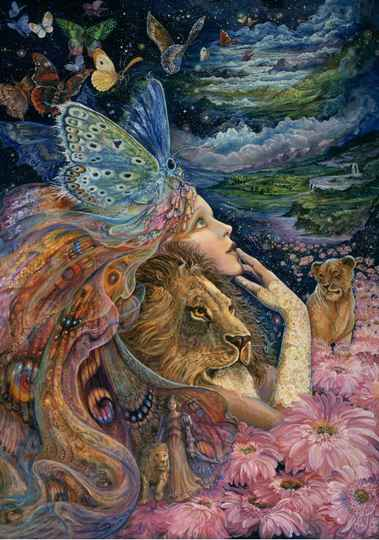 Josephine Wall -  Heart and Soul -  Puzzle 1,000 pieces GS14952