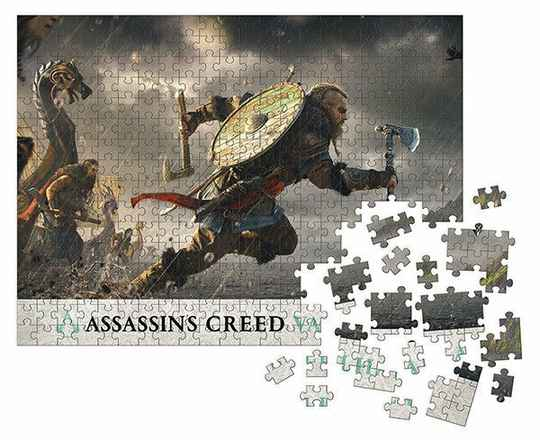 Assassin's Creed Valhalla Jigsaw Puzzle Fortress Assault (1000 pieces) Gs14987