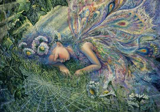 Josephine Wall -  Caught by a Sunbeam  -  Puzzle 1,000 pieces GS14954
