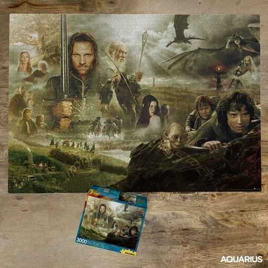 THE LORD OF THE RINGS - Puzzle 3000P gs14915