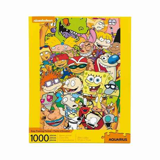Nickelodeon Jigsaw Puzzle Cast (1000 pieces) gs15179