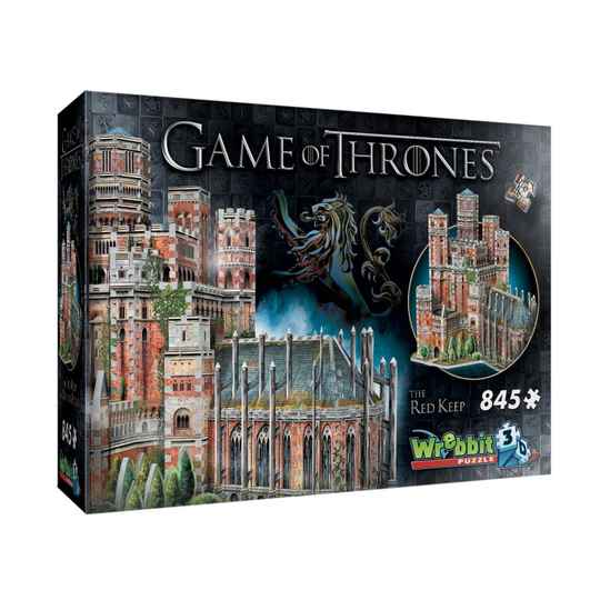 3D Puzzle - Game of Thrones - The Red Keep  -  845 piece Gs12929