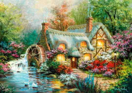 Country Retreat -  Puzzle 1,500 pieces Gs14884