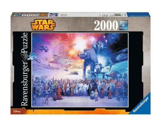Star Wars Jigsaw Puzzle Star Wars Universe (2000 pieces) Gs15175