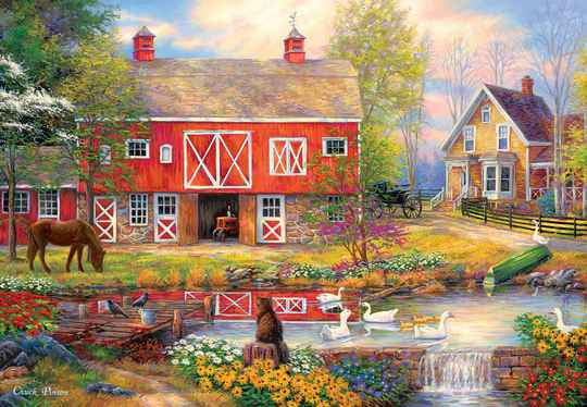 Reflections on Country Living -  Puzzle 2,000 pieces Gs15153