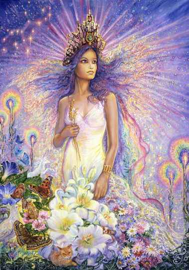Josephine Wall    Zodiac Sign - Maagd  -  Puzzle 1,000 pieces gs14944