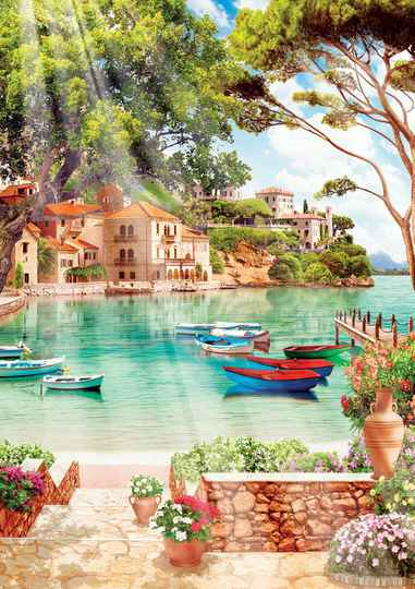 Peaceful Good Morning -  Puzzle 1,000 pieces gs14059