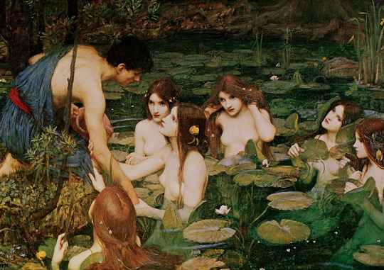 Hylas And The Nymphs, 1896 -  Puzzle 1,500 pieces Gs14317