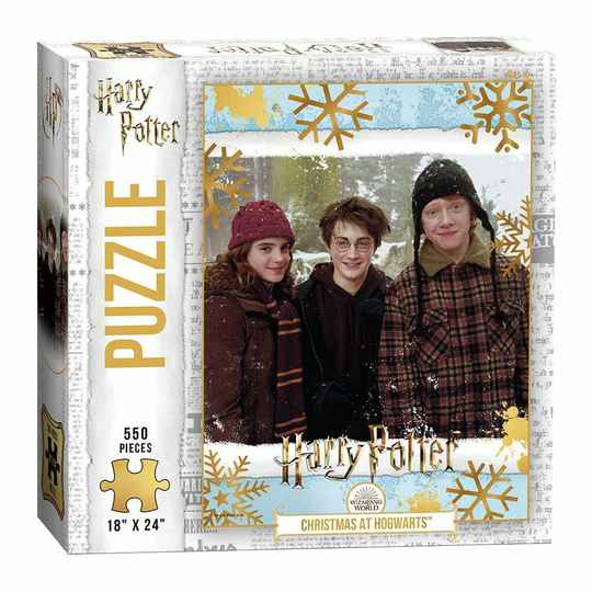 Harry Potter Jigsaw Puzzle Christmas at Hogwarts (550 pieces) gs15178