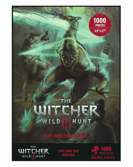 Witcher 3 Wild Hunt Puzzle Ciri and the Wolves Gs15180