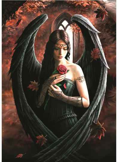 Anne Stokes - Angel Rose -  Puzzle 1,000 pieces Gs14815