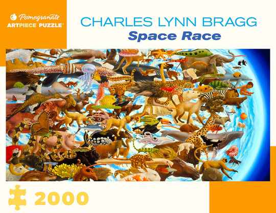 Charles Lynn Bragg - Space Race  -  Puzzle 2000  pieces gs13146