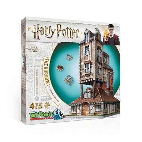 HARRY POTTER - Puzzle 3D - Weasley Family Home - 415 pces GS12794