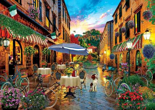 Traveling in Italy -  Puzzle 2,000 pieces gs13561