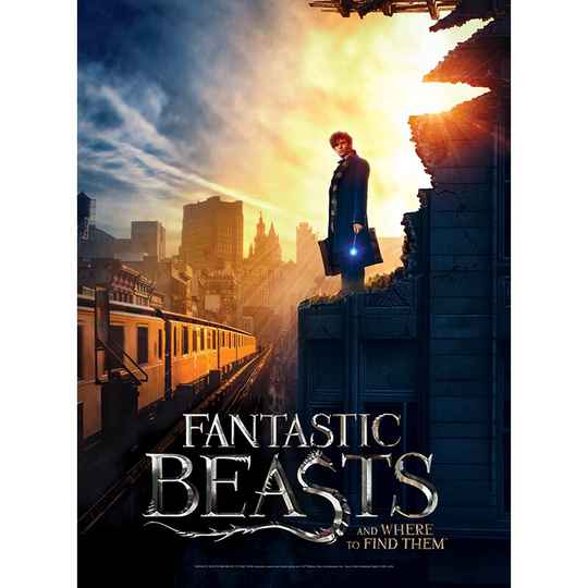 Poster Jigsaw Puzzle - Fantastic Beasts - New York  -  500 pieces GS12931