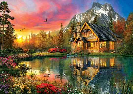 Four Seasons One Moment -  Puzzle 2,000 pieces gs13557